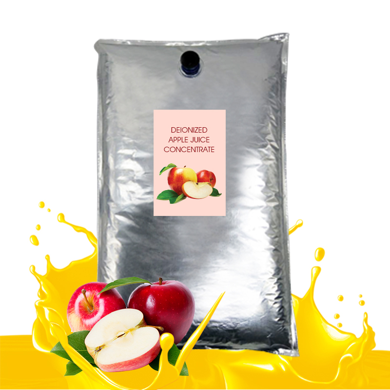 Deionized apple juice concentrate
