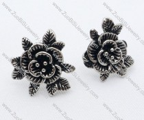 China Rose Stainless Steel earring - JE050026