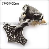 Goat Hammer Pendant p003752