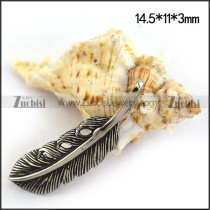 Small Feather Charm for Bracelet p003515
