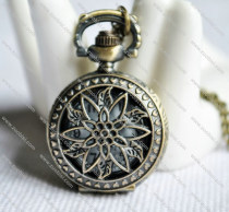 flower pistil Pocket Watch -PW000182