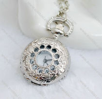 Silver Small Lady Pocket Watch -PW000263
