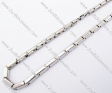 Stainless Steel necklace -JN100042