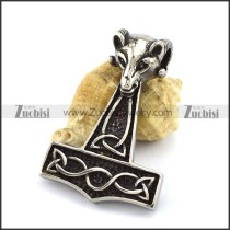 51MM Long Hammer Pendant p002963