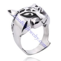 Stainless Steel Leopard Ring JR350109