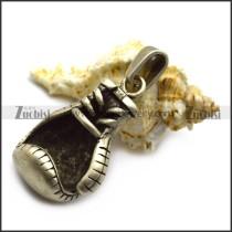 Silver Boxing Glove Pendant p006708