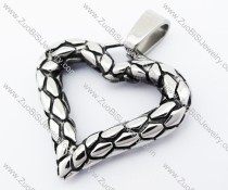 Ruga Stainless Steel Heart Pendant - JP170219