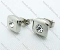 Stainless Steel Piercing Earrings JE220002