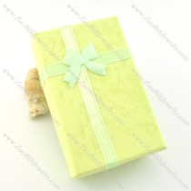 yellow paper jewelry gift boxes for pendant pa0012