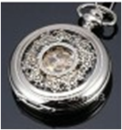 Antique Mechanical Pocket Watch with chain -pw000386