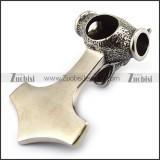 Stainless Steel Wolf Hammer p003300