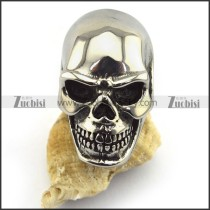 Large Classical Bareheaded Skull Ring r003433