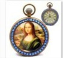 Antique Mechanical Pocket Watch with chain -pw000389