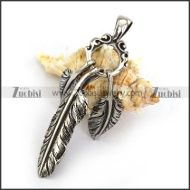 3 Casting Feather Charms for Necklace p003865