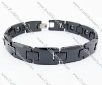 Black Ceramic Bracelet JB130196