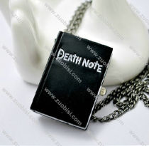 Black Death Note Pocket Watch -PW000260