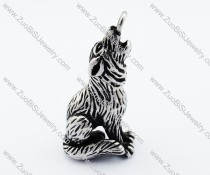 Stainless Steel wolf Pendant -JP010084