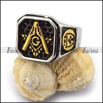 Gold Masonic Ring r003617