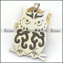 Black Night Owl Pendant p003249
