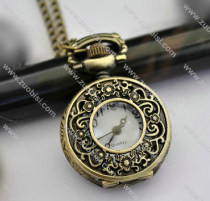 Vintage Bronze Pocket Watch -PW000323