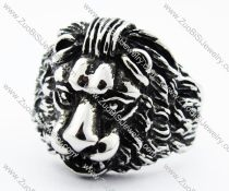 Stainless Steel Lion Ring of forest King -JR010196