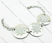 Stainless Steel Flower Bracelet -JB140021