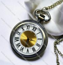 Vintage Big Size Roman Number Pocket Watch Chain - PW000024
