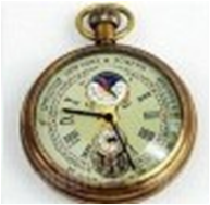 Antique Mechanical Pocket Watch with chain -pw000394