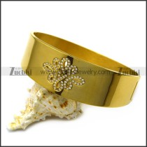 chinese knots stainless steel bangle b007255