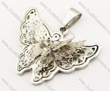 Stainless Steel Butterfly Pendant -JP140051