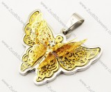 Stainless Steel Butterfly Pendant -JP140052