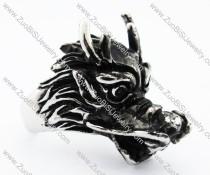 Stainless Steel Dragon Ring -JR010198