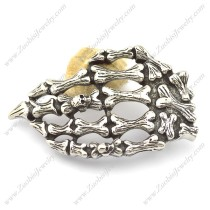 Stainless Steel Crossbones Belt Buckle bu000045
