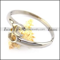 Silver Stainless Steel Wrench Bangle b005960