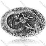 Dragon Belt Buckle with Royal Personalized Relief Pattern -JZ350012