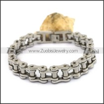 Stainless Steel Bicycle Chain Link Bracelet b004204