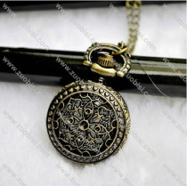 Unique Flower Pocket Watch Necklace -PW000105