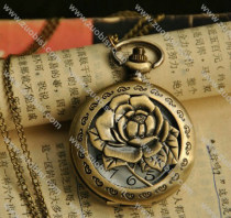 Antique Rose Pocket Watch -PW000259