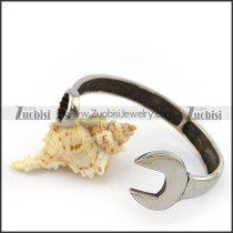 Stainless Steel Spanner Bangle b004688