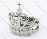 Stainless Steel An crown Ring -JR330011