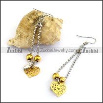 Hollow Heart Earring e001214
