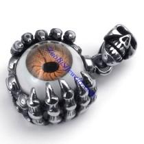 Unique Demon Eye Pendant in Stainless Steel Skull Jewelry -JP450007