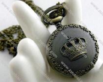 Vintage Crown Pocket Watch Chain - PW000098