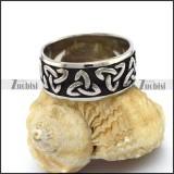stainless steel viking ring r003267