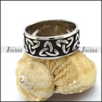 stainless steel viking ring r003267