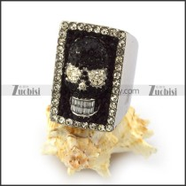 Women Stainless Steel Skull Ring r003925