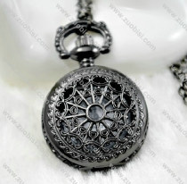 Small Size Gun Metal Pocket Watch Chain - PW000052