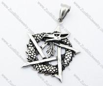 Stainless Steel Dragon Pendant - JP170205