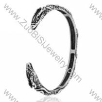 Dragon Stainless Steel Bangles - JB350011