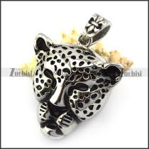 Leopard Head Pendant p004886